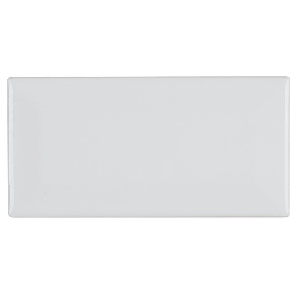 Guilford Bevel 3 x 6 Ceramic Subway Tile in Arctic White by Itona Tile