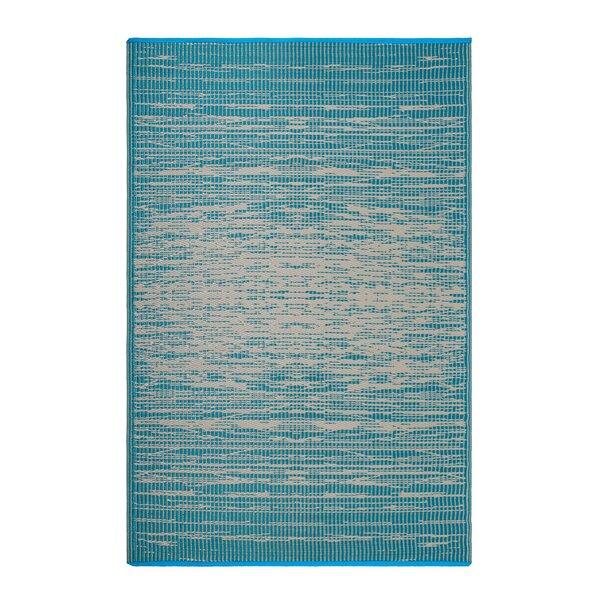 Bentley Teal Indoor/Outdoor Area Rug by Highland Dunes