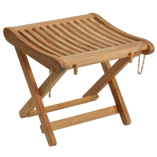 Blade Backless Folding Accent Stool by Millwood Pines