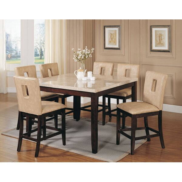 Humberto 7 Piece Counter Height Dining Set by Red Barrel Studio
