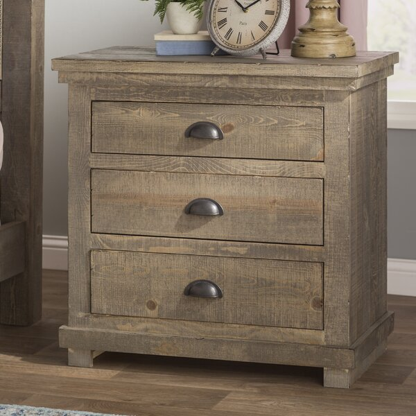 Castagnier 3 Drawer Bachelors Chest By Lark Manor by Lark Manor Today Only Sale