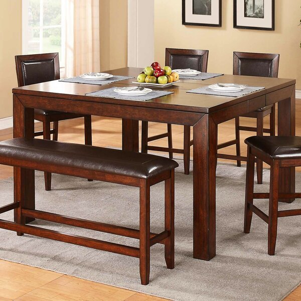 Brookstonval 6 Piece Extendable Dining Set by Red Barrel Studio
