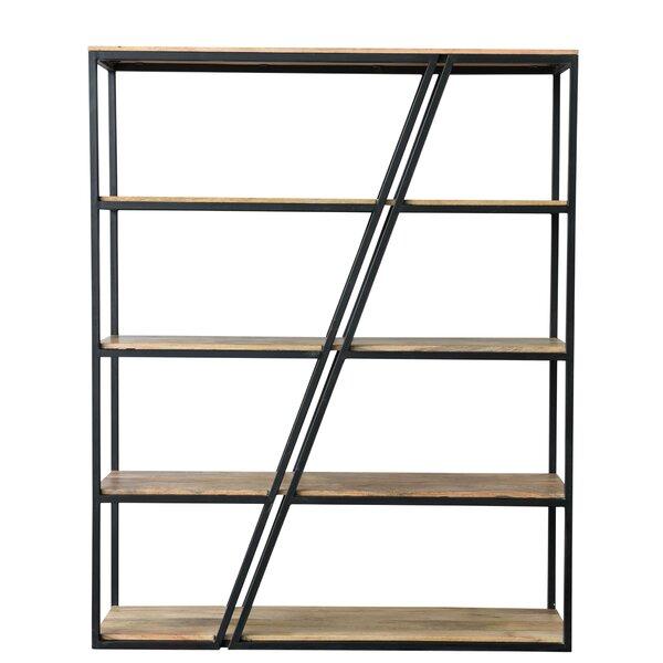Charvi Iron Wood Shelf Etagere Bookcase By Foundry Select