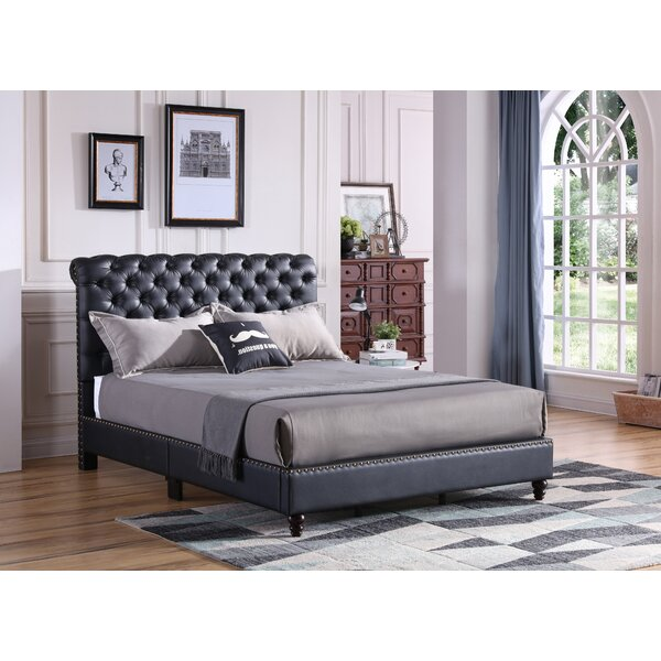 Chilcote Tufted Upholstered Standard Bed by Darby Home Co