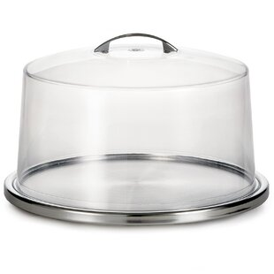 Cake Stand / Cover Set  sc 1 st  Wayfair & Cake Plate With Cover | Wayfair