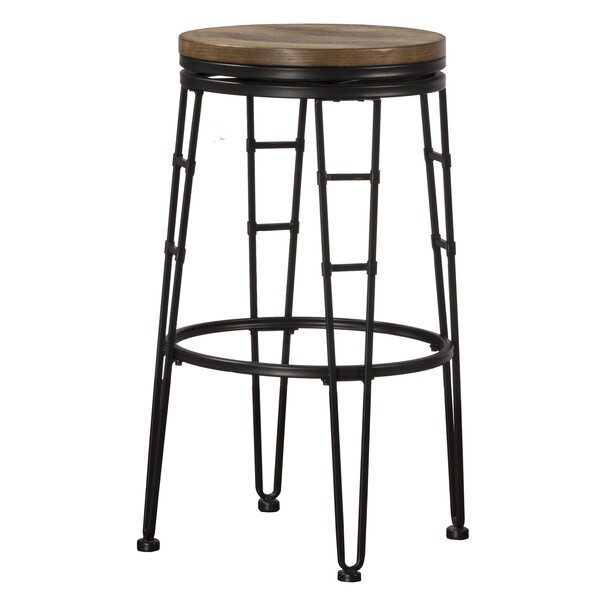 Winfield 30 Swivel Bar Stool by Gracie Oaks