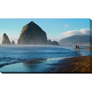 'Cannon Beach Landscape, Oregon USA' Photographic Print on Wrapped Canvas by Picture Perfect International