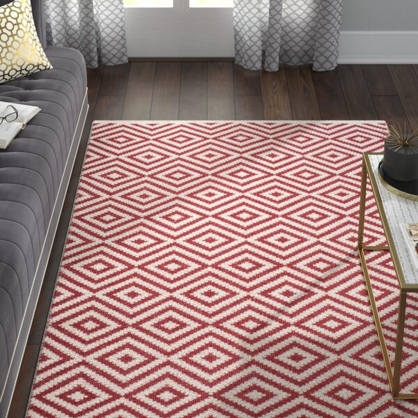 Sami Hand-Woven Red Area Rug by Willa Arlo Interiors