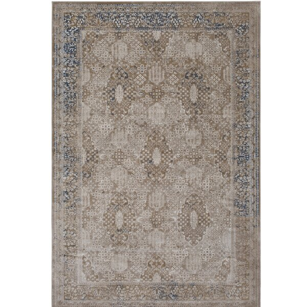 Hummell Beige Area Rug by Lark Manor