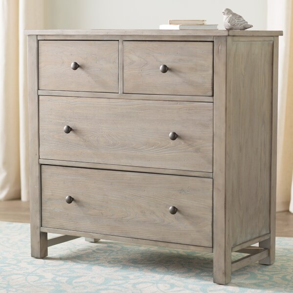 Aguirre 4 Drawer Accent Chest by Lark Manor