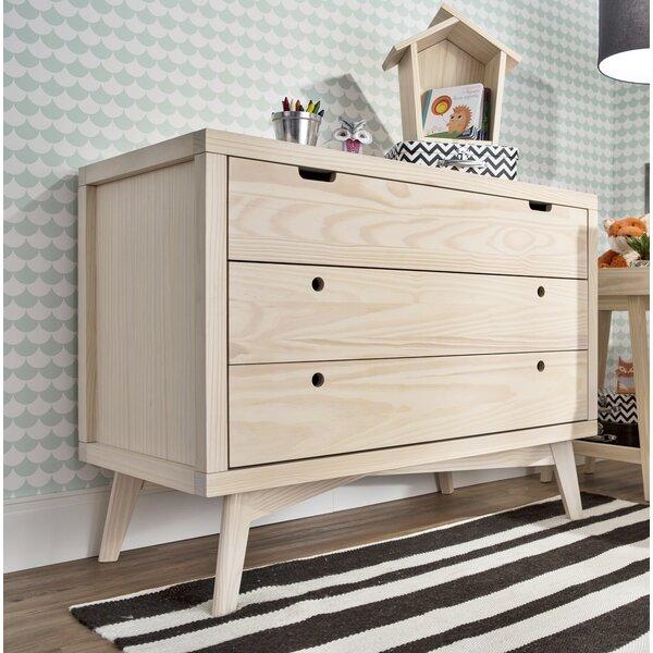 Torrey Retro 3 Drawer Dresser by Mistana