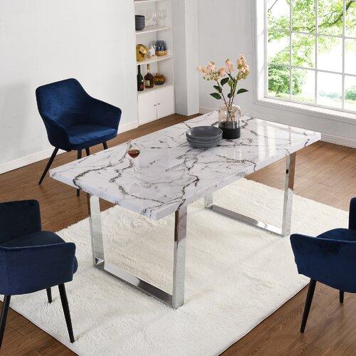 Vandemark Dining Table Ebern Designs