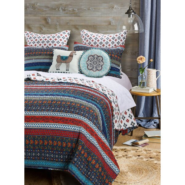 Woroud Reversible Quilt Set by Bungalow Rose