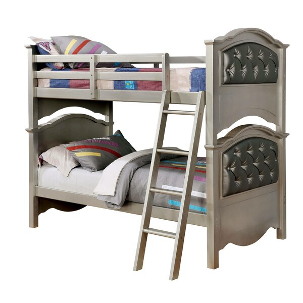 Kalish Twin Over Twin Bunk Bed by Harriet Bee