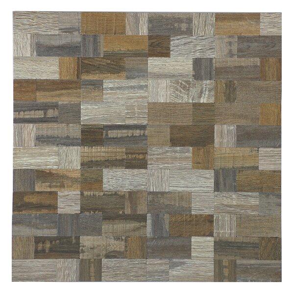 12 x 12 Peel & Stick Mosaic Tile in Beige by versaTILE