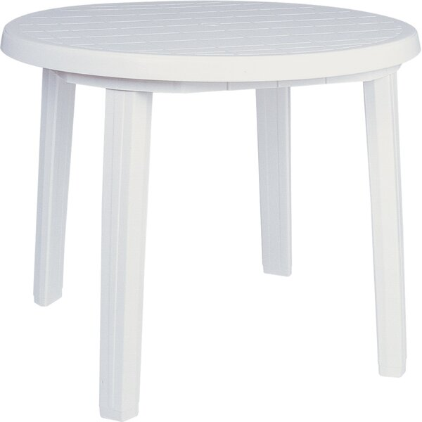 Kinkaider Plastic/Resin Dining Table by Red Barrel Studio