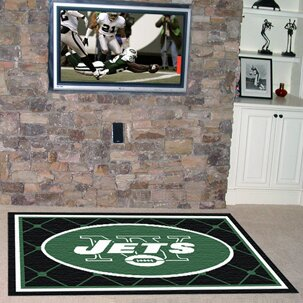 NFL - New York Jets 4x6 Rug by FANMATS