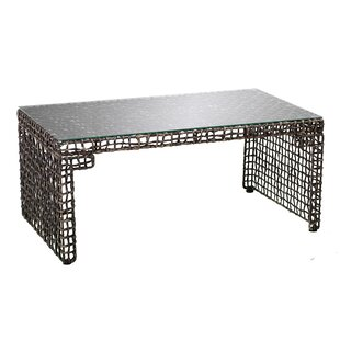 Find for Akersville Woven Coffee Table ByWorld Menagerie