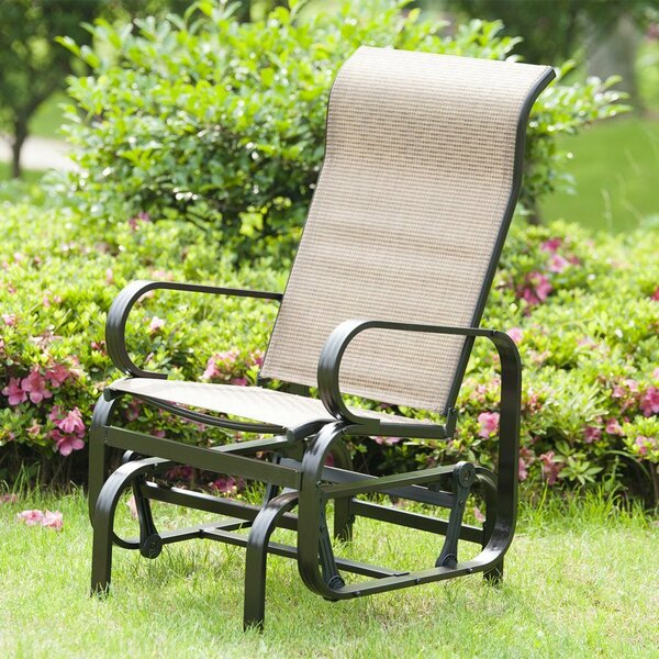Haarstick Sling Glider Chair by Red Barrel Studio