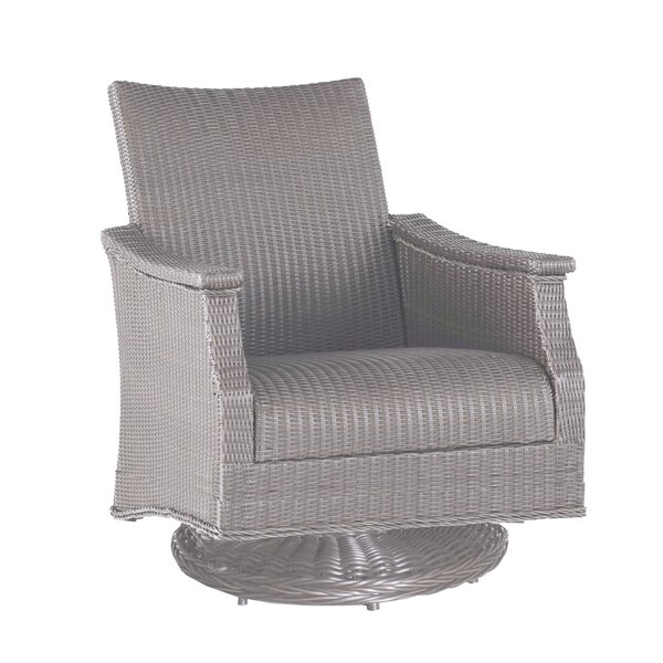 Bentley Swivel Rocking Chair with Cushions by Summer Classics