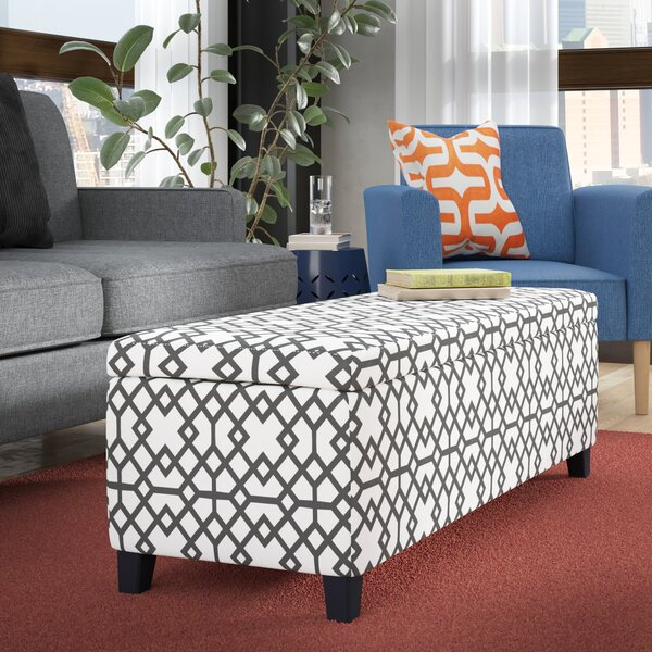 Schmit Upholstered Storage Bench by Wrought Studio