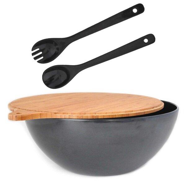 Eco Bamboo Salad Bowl Set by Yumi Eco Solutions