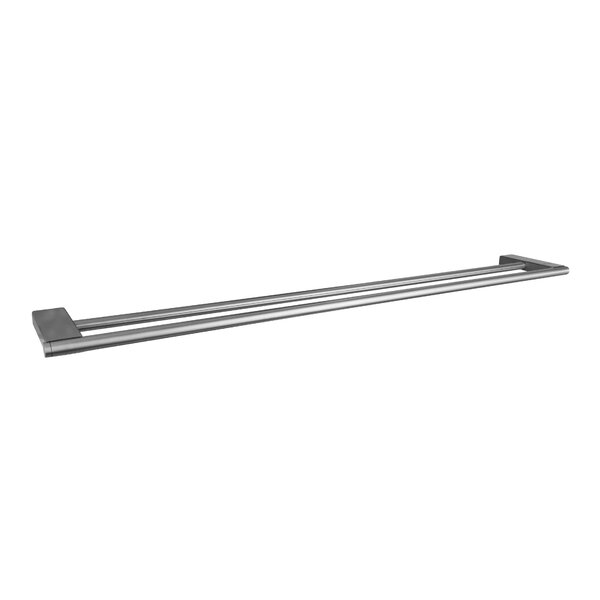 Double Wall Mounted Towel Bar by UCore