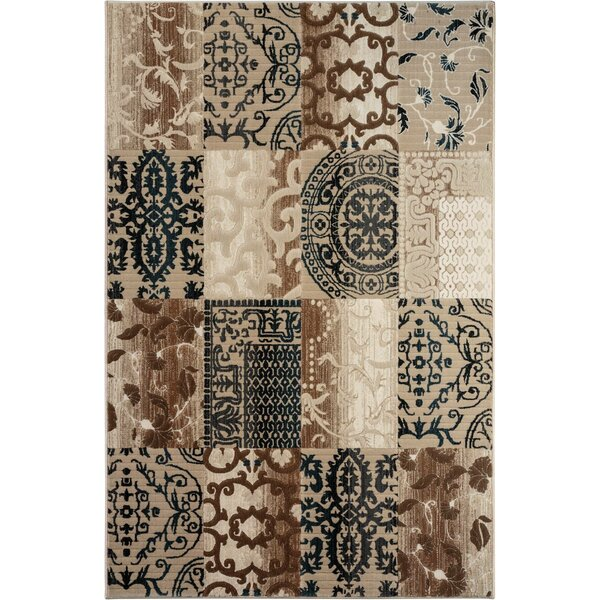 McGregor Brown/Beige Area Rug by Threadbind