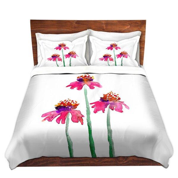 Tifton Brazen Design Studio Echinacea Flowers Microfiber Duvet Covers