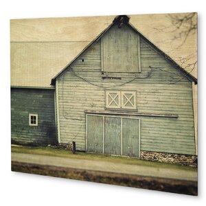 'Farmhouse Aqua' Photographic Print on Wood by KAVKA DESIGNS