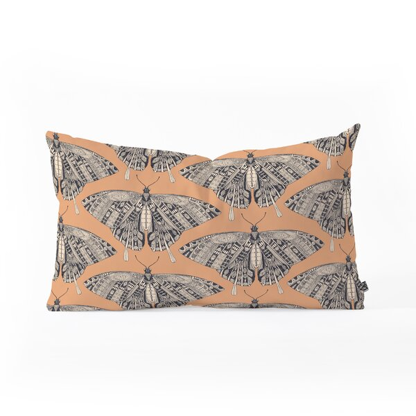 Sharon Turner Swallowtail Oblong Lumbar Pillow by East Urban Home