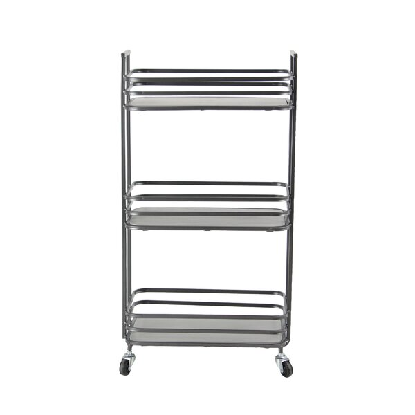 Osterley 3-Tiered Bathroom Cart by Gracie Oaks