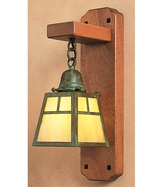 A-Line 1-Light Wall Sconce Arroyo Craftsman AYO1043