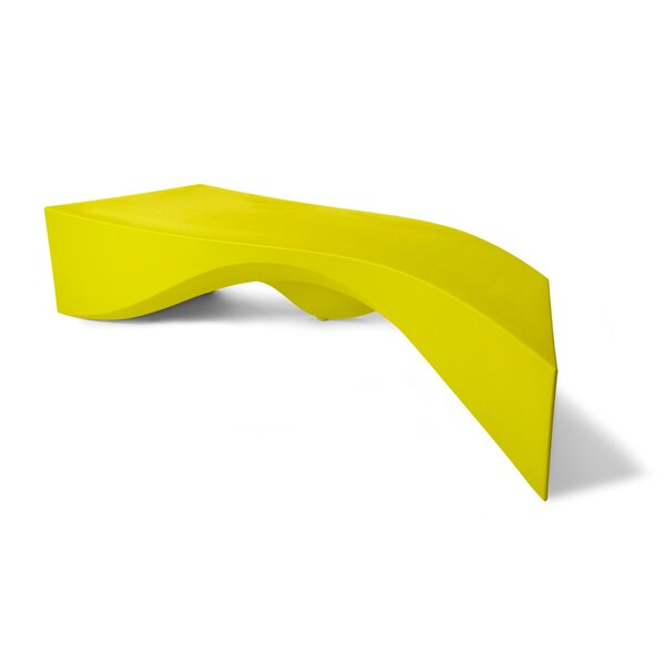 Riptide Plastic Bench by TONIK TONIK