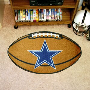 NFL - Dallas Cowboys Football Mat by FANMATS