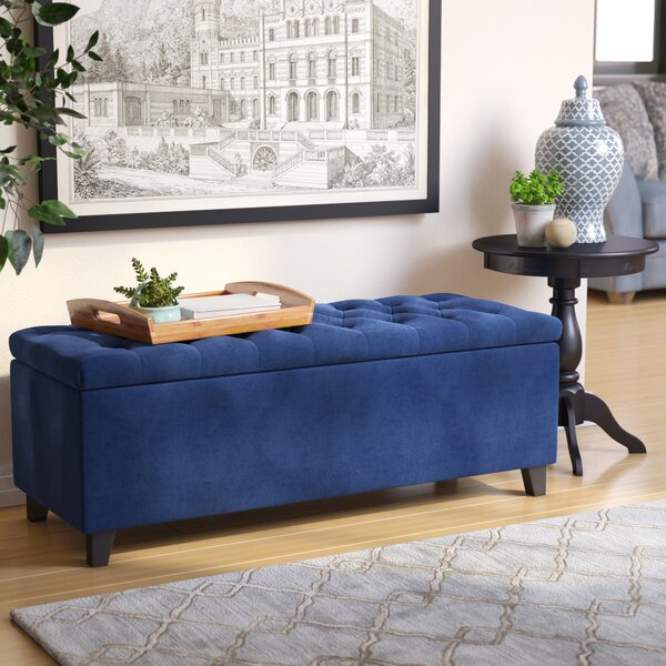 Darius Upholstered Storage Bench By Alcott Hill