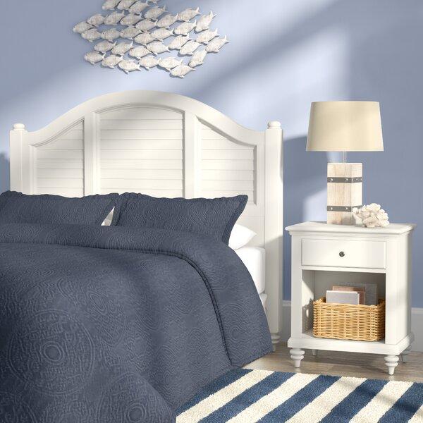 Joel Panel 2 Piece Bedroom Set by Beachcrest Home