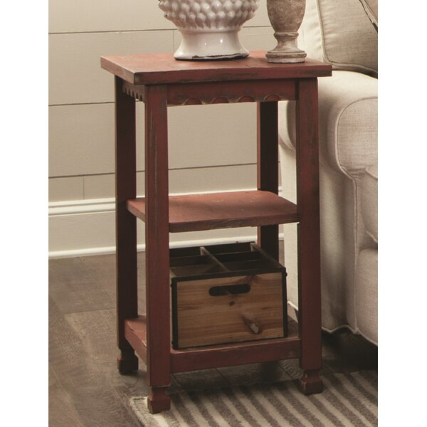 Mangum 2 Shelf End Table by Laurel Foundry Modern Farmhouse