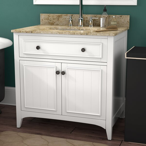 Gettys 31 Single Bathroom Vanity Set by Three Post