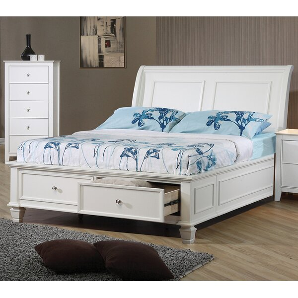 Fansler Storage Sleigh Bed by Charlton Home