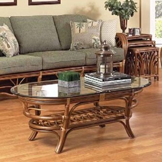 Antigua Coffee Table by Boca Rattan