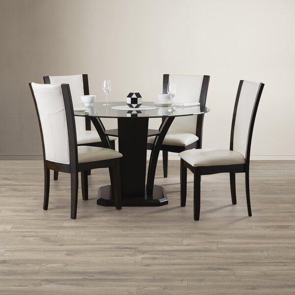 Tiberius 5 Piece Dining Set by Orren Ellis Orren Ellis