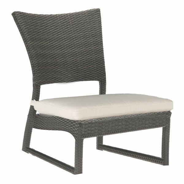 Skye Sand Patio Chair with Cushion by Summer Classics