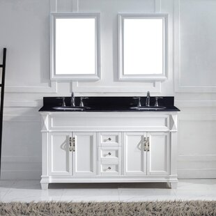 Find the perfect Kace 61 Double Bathroom Vanity Set By Darby Home Co
