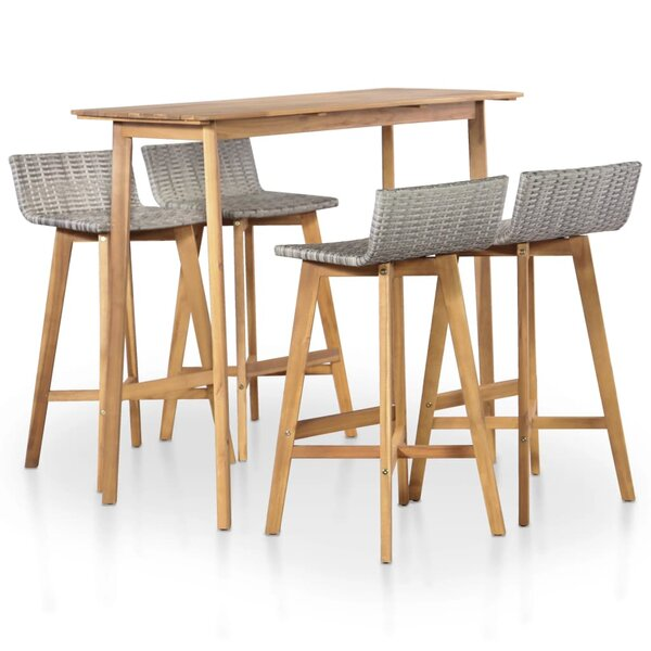 Howardwick 5 Piece Dining Set by Foundry Select