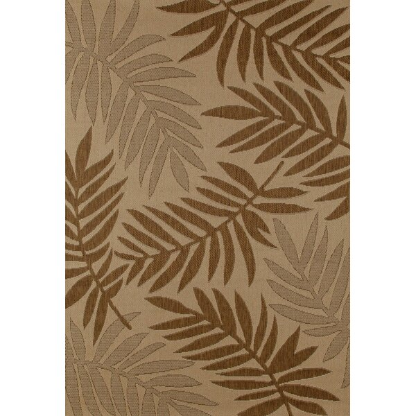 Coventry Brown Indoor/Outdoor Area Rug by Bay Isle Home