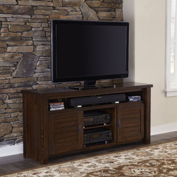 Moffitt Solid Wood TV Stand For TVs Up To 70