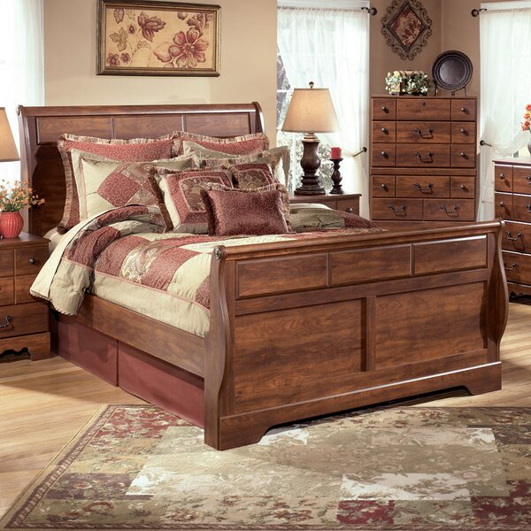 Elle Sleigh Configurable Bedroom Set by August Grove