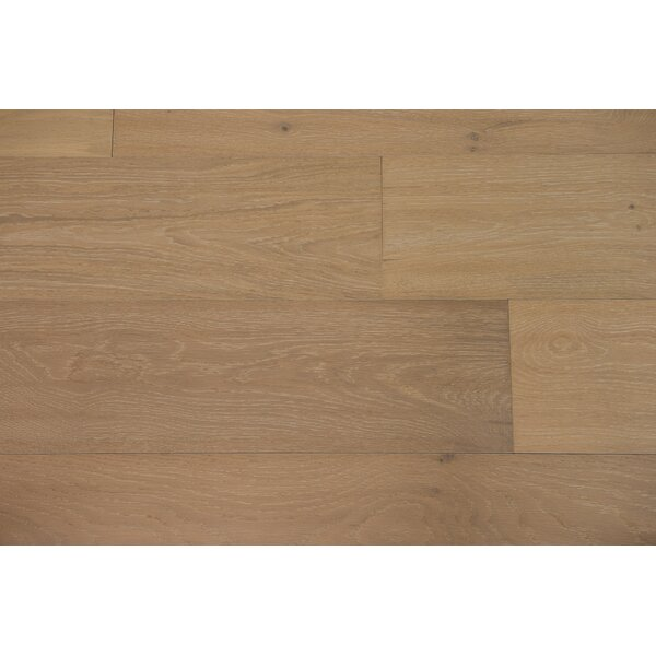Venice 6-1/2 Engineered Oak Hardwood Flooring in Ecru by Branton Flooring Collection
