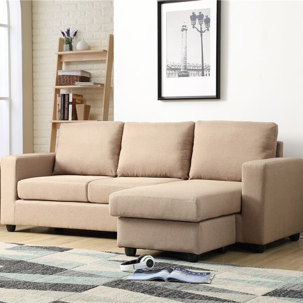 Cleland Heights Reversible Sectional by Mercury Row